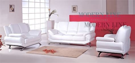 modern white leather sofa modern line furniture commercial furniture custom made