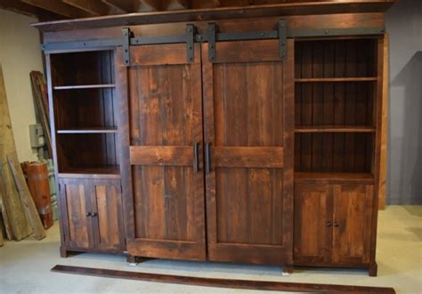 entertainment cabinets with doors barn door entertainment cabinet farmhouse