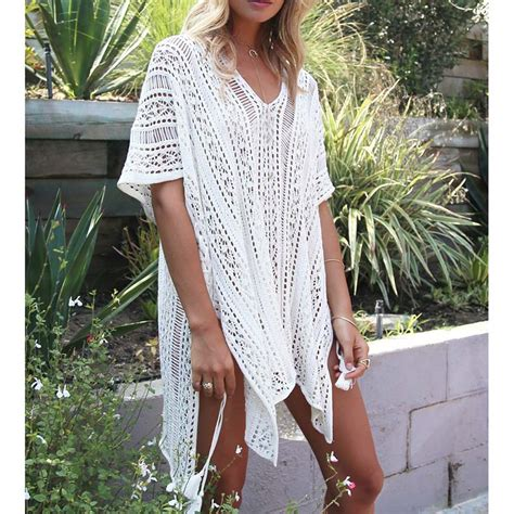 knitted bathing suit cover up knitted pareo 2017 new bathing suit cover ups hollow