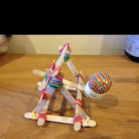 rubber st craft ideas catapult from popsicle sticks and rubber bands cool