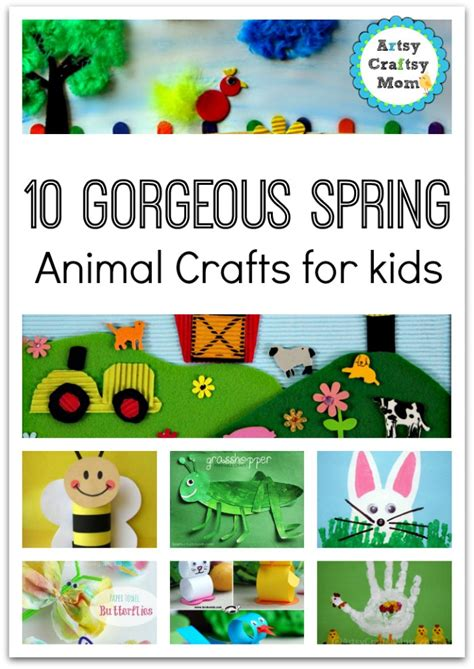 easy animal crafts for 72 easy crafts for artsy craftsy