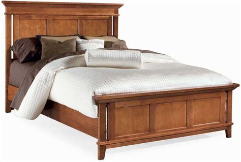 sterling bedroom furniture drew 181 310mr sterling pointe panel bed maple metal bed