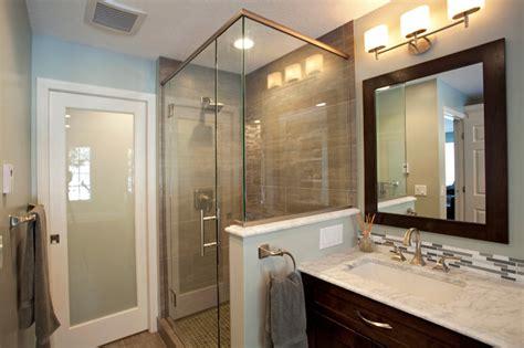 Modern Spa Bathroom by Oaks Modern Spa Inspired Bathroom