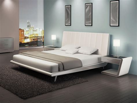 zina bed by elite modern furniture from leading european