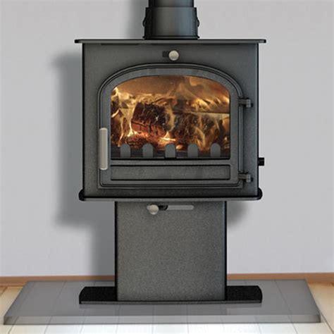 clean burning fireplace defra approved stove cleanburn norreskoven pedestal