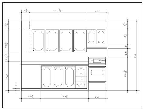 kitchen cad design kitchen elevation drawings in autocad studio design