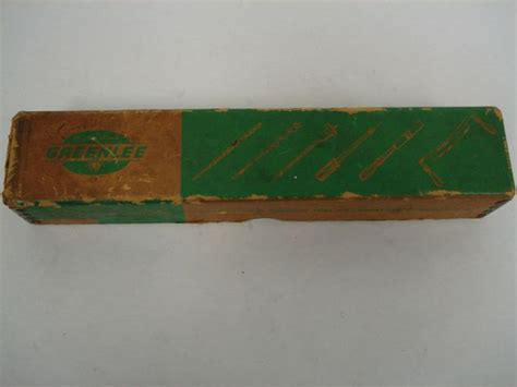 rockford woodworking vintage no 482 wood handle push drill made by greenlee
