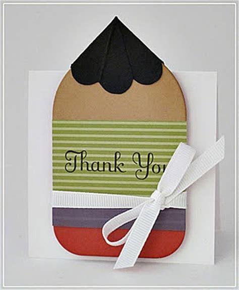 card ideas for teachers thank you thank you cards