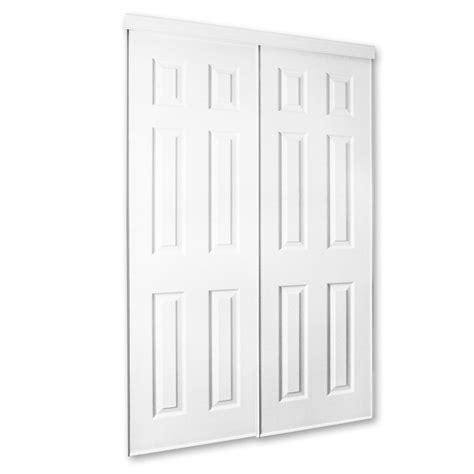 wood sliding closet doors lowes white molded sliding closet door lowe s canada