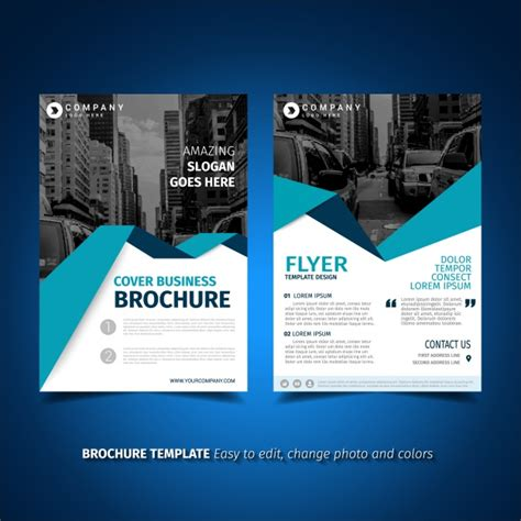 flyer template free flyer template design vector free