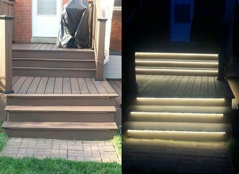 stair lights outdoor inspired led outdoor lighting stair lighting