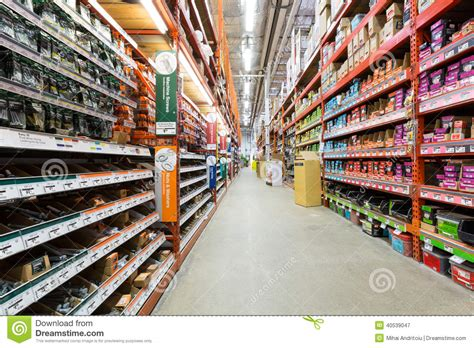 home depot paint aisle aisle in a home depot hardware store editorial photography