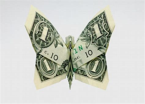 Stunning Origami Made Using Only Money I Like To Waste