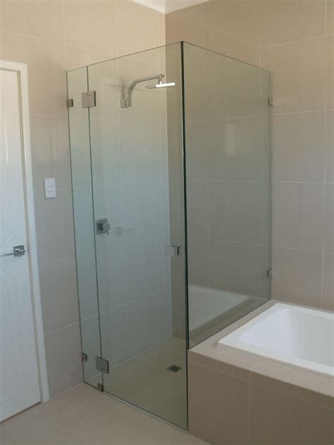 glass shower bath screen shower screens perth frameless and semi frameless