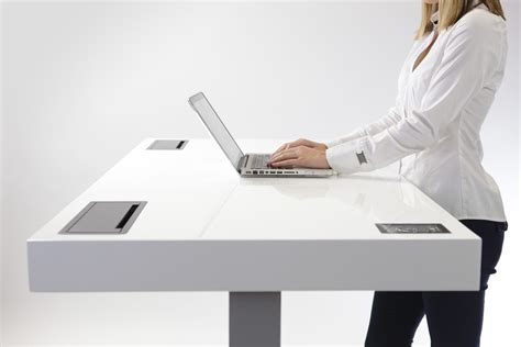 standing desk productivity stir kinetic desk increases productivity and helps burn