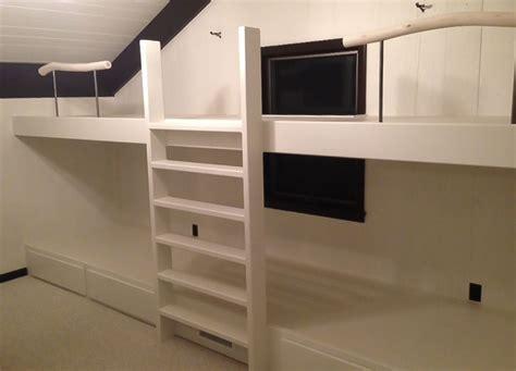 modern bunk beds custom modern bunk beds by greene pepper woodworking