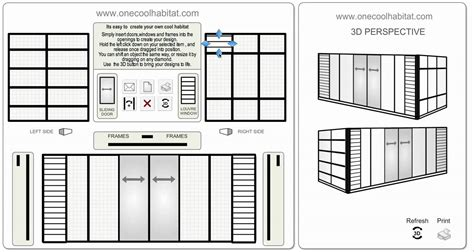 container home design tool prefab shipping container home design tool