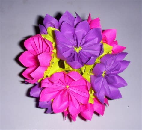 origami kusudama flower origami origami kusudama 1