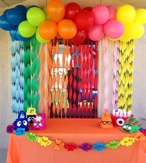 birthday decoration images at home 50 ideias de decora 231 227 o de festa infantil dicas incr 237 veis
