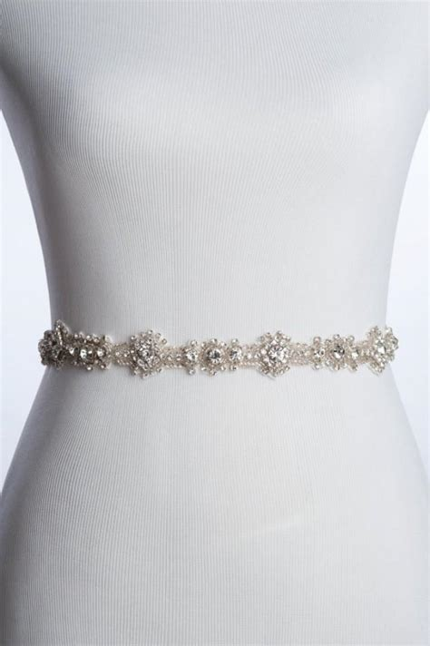 beaded wedding sash charme rhinestone sash wedding beaded belt bridal sash