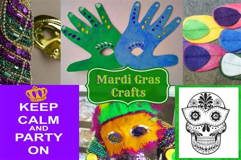 mardi gras crafts for mardi gras mask crafts