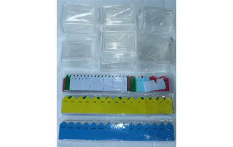 bead material printed arrows boxes for bead material montessori