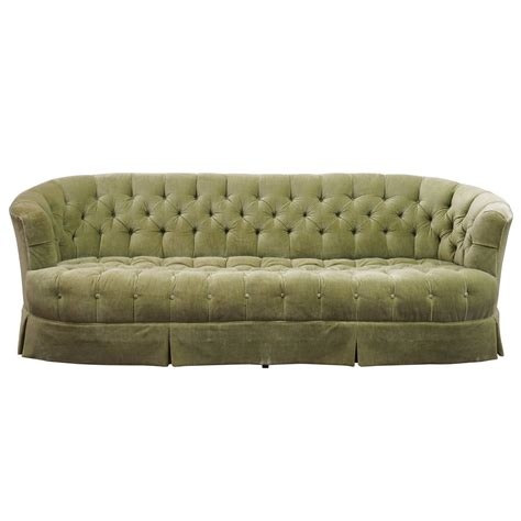 green velvet tufted sofa regency chesterfield mint green velvet tufted