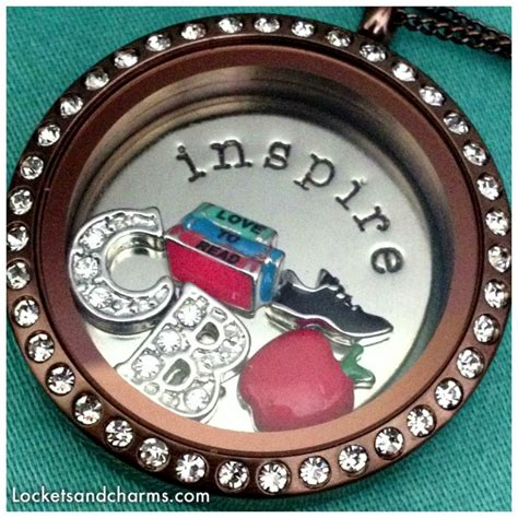 chocolate locket origami owl origami owl large chocolate living locket 174 with crystals