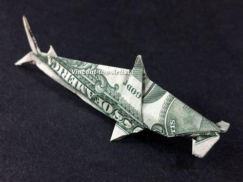 origami hammerhead shark hammerhead shark dollar origami sea fish animal made of