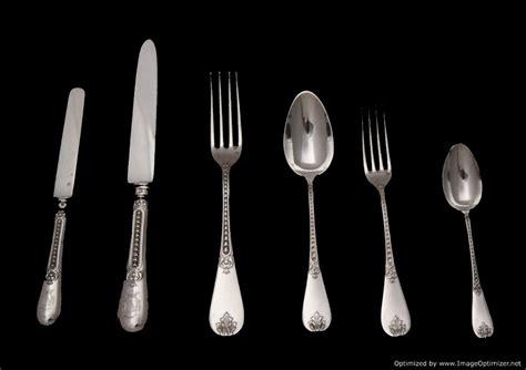 from silverware sterling silver flatware set royal crest 164p ebay