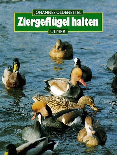 Der Gartenbau Zeitschrift by Ziergefl 252 Gel Halten Ulmer Verlag B 252 Cher Zeitschriften