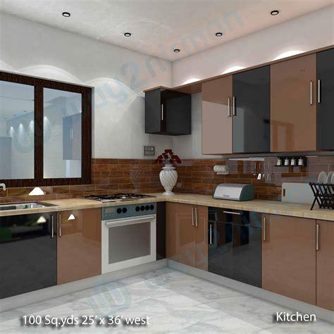 house kitchen interior design way2nirman 100 sq yds 25x36 sq ft west house 2bhk elevation view kitchen interior designs