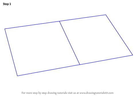 how to draw a picture of a book learn how to draw an open book everyday objects step by