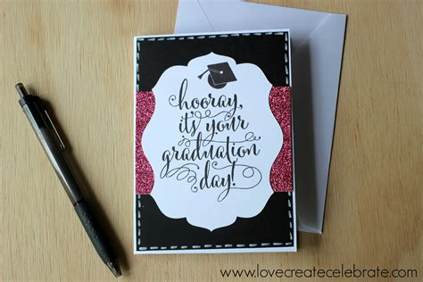 how to make a graduation card graduation card create celebrate
