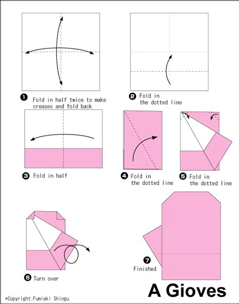how to make origami gloves gloves easy origami for