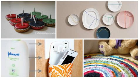 craft ideas from waste material for 10 clever diy home decor crafts with actual waste materials