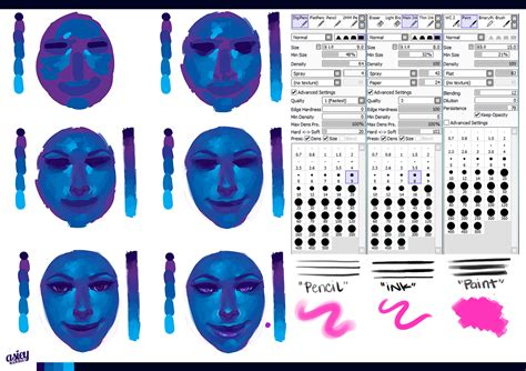 paint tool sai shapes forum my digital paintings always look washed out