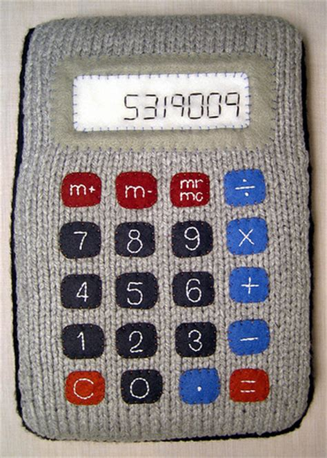knitting calculator knitted calculator crafts