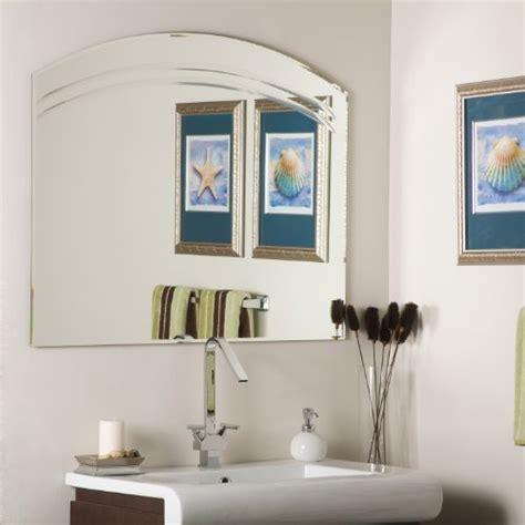 large frameless bathroom mirrors buy best large frameless bathroom wall mirror