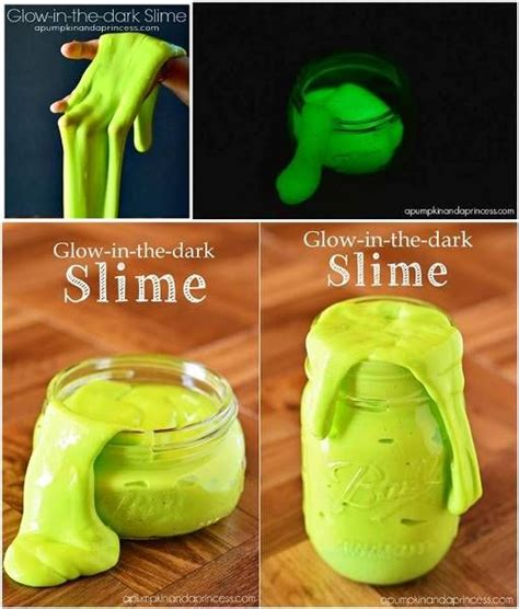 easy kid crafts to do at home easy to make glow in the slime diy find