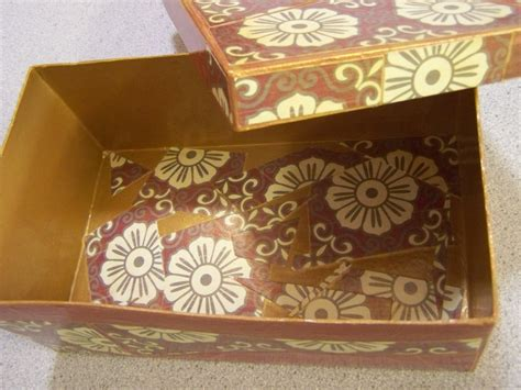 how to decoupage a cardboard box decoupage sewing boxes finished tropical threads
