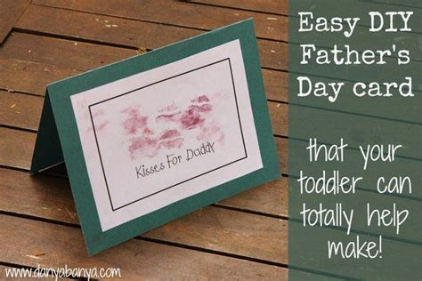 make a s day card easy diy s day card that toddlers can help make