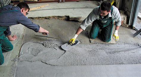 betonfußboden selber machen betonboden sanieren haus dekoration