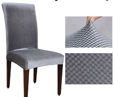 velvet fabric universal elastic dining chair covers spandex dining housse de chaise office