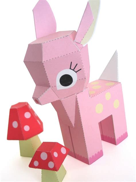 free paper craft 6 best images of free printable paper toys
