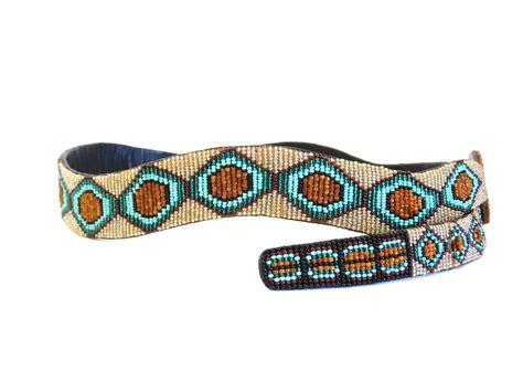 beaded belts for sale 1990s beaded diamondback rattlesnake belt for sale at 1stdibs