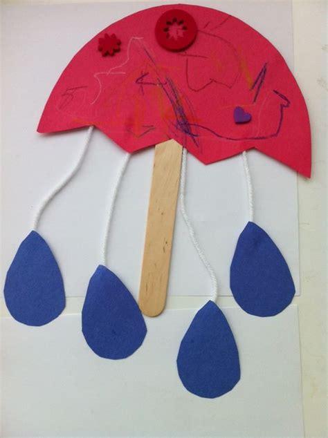 craft work for kindergarten preschool activities for umbrellas on a rainy day