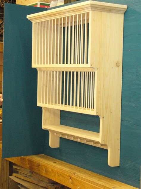 kitchen cabinet plate rack s o for peggy 2tier shaker peg crown moulding wood by holliwalt