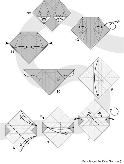 origami ancient pdf kade chan origami 香港摺紙工作室 日誌 fiery