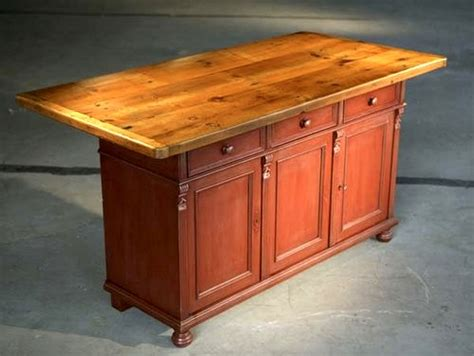farm table kitchen island rustic barn kitchen island with farm table top ecustomfinishes